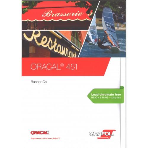 ORACAL - 451 bâches spéciales Film PVC