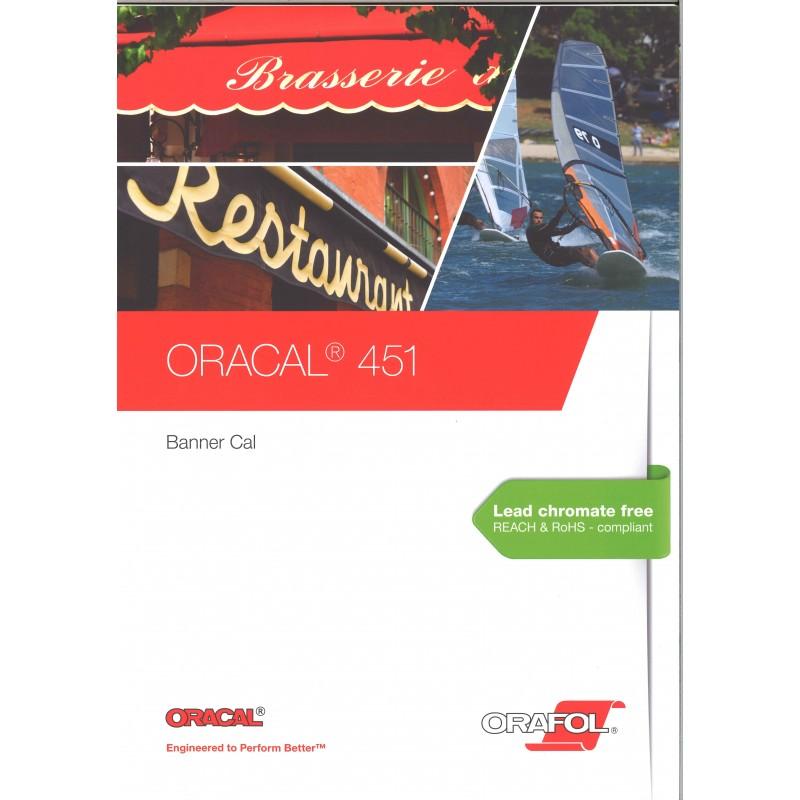 ORACAL - 451 bâches spéciales Film PVC 451