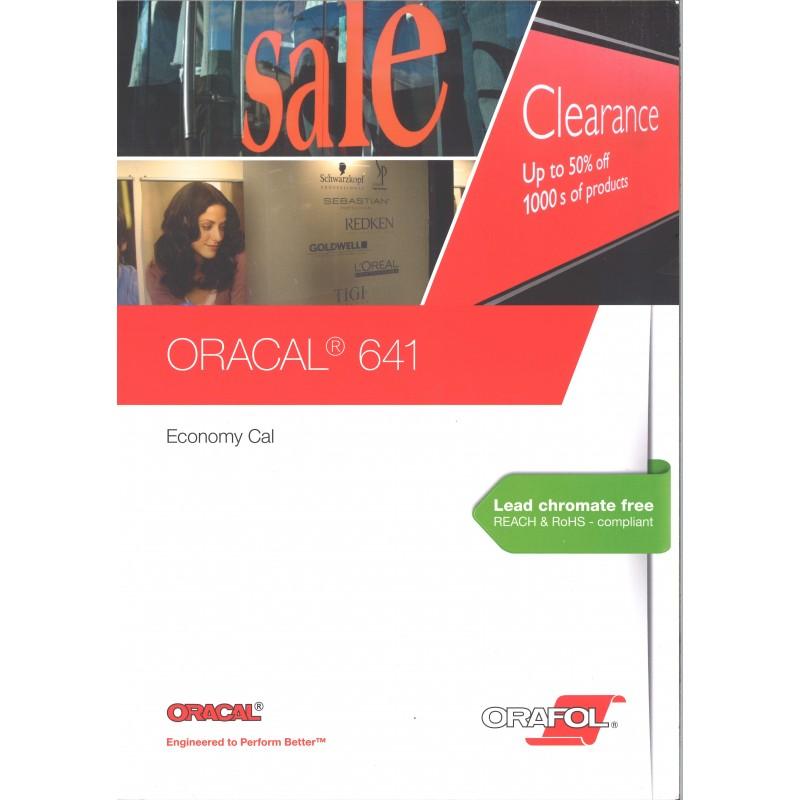 ORACAL - 641 Film PVC économique 641